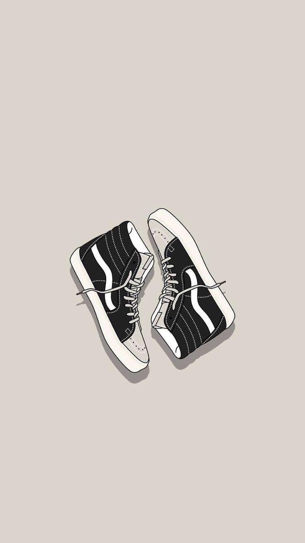 Vans Ilustration Ilustration Vans Illustration Illustration De Vans Ilustracion De Furgonetas In 2020 Shoes Wallpaper Iphone Wallpaper Vans Sneakers Wallpaper