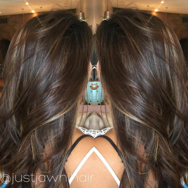 Redken Shades Eq Gloss Nb Series Chocolate Balayage With