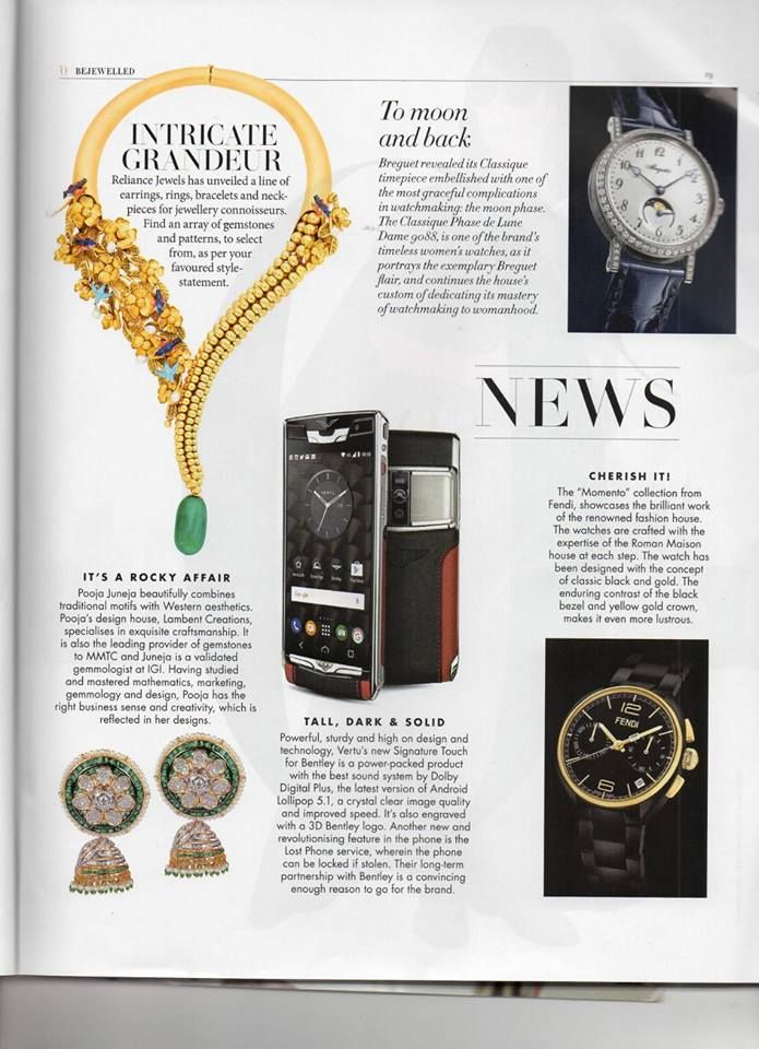 As seen in L'Officiel India  Intricate Grandeur Reliance Jewels has unveiled a line of earrings, rings, bracelets and neckpieces for jewellery connoisseurs. Find an array of gemstones and patterns, to select from, as per your favourite style-statement.  #reliance #reliancejewels #indianjewellery #beautiful #bridal #neverendingtrend #bethemoment #beyou