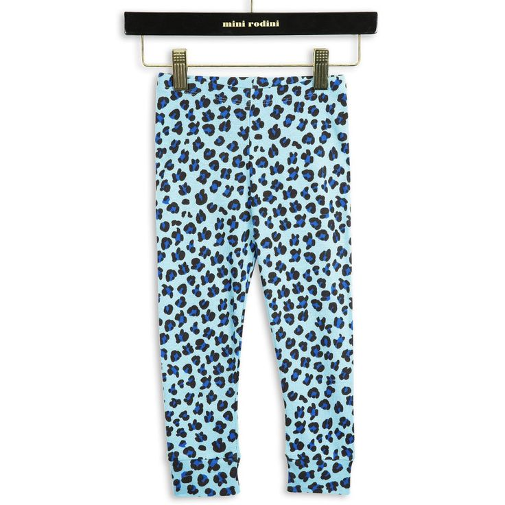 LEOPARD RIB LEGGINGS BLÅ - KOMMER SNART! via DELLEMYR. Click on the image to see…