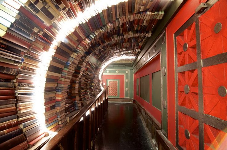 Самые необычные книжные магазины мира | Серебряный Дождь