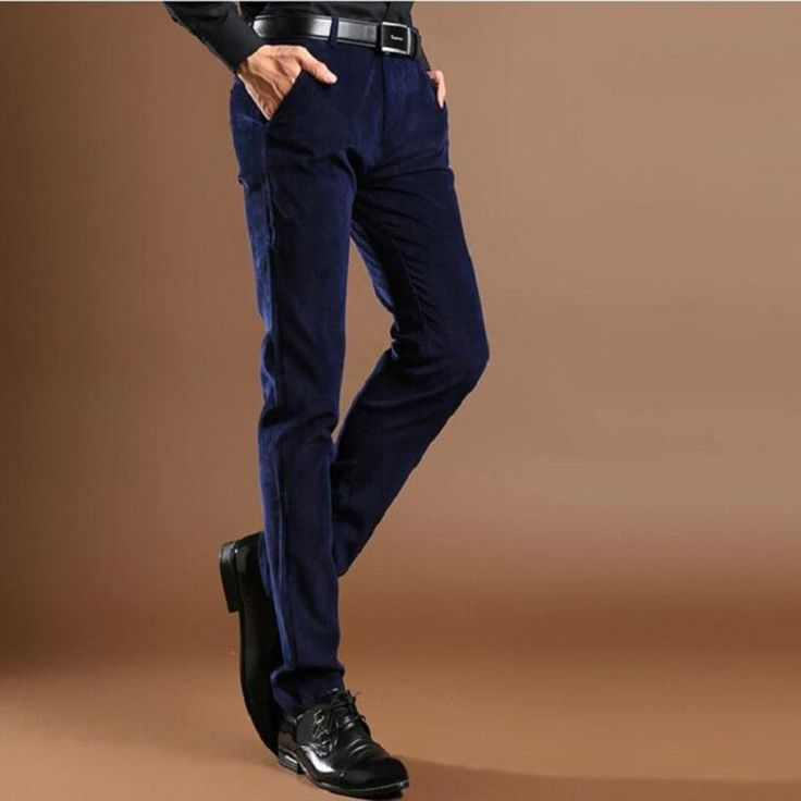 2017 Wholesale Quality New 2016 Spring Autumn Skinny Male Business Corduroy Pant Trousers Mens Straight Corduroy Breathable Casual Trousers From Oott, $36.86 | Dhgate.Com