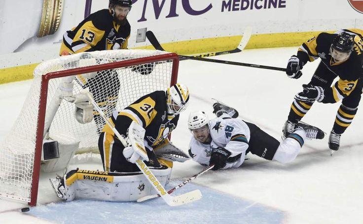 June 1, 2016 — Stanley Cup Final: Penguins 2, Sharks 1, OT (Photo: Chaz Palla     Tribune-Review)