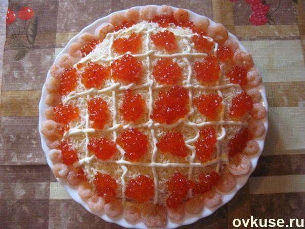"""Салат """"Царский"""" - Простые рецепты Овкусе.ру"""