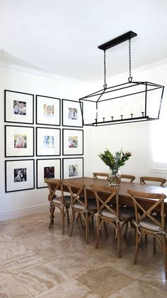 I love clean, minimal spaces, but not completely bare walls. One of my favorite ways to fill empty wall space is with a gallery wall. Gallery walls come in all shapes and sizes, but I like to extend m