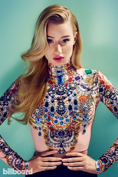 The Summer of Iggy: Iggy Azalea Cover Photo Shoot | Billboard OMG!! She looks so good in this outfit! *o*