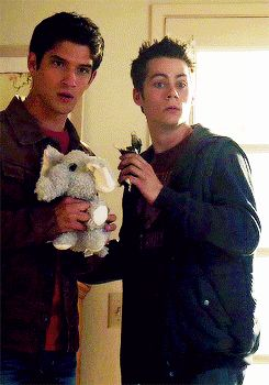 "Remember the epically adorable battle of Sciles vs. Dog? | 21 Reasons Why Scott And Stiles Are The Cutest Couple On ""Teen Wolf"""