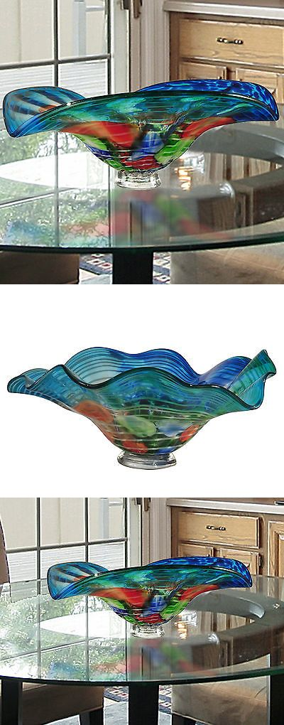 Decorative Plates and Bowls 36019: Bloomsbury Market Modern Glass Decorative Bowl -> BUY IT NOW ONLY: $106.99 on eBay!