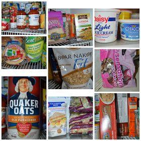 Skinny Meg: Clean Eating Food List