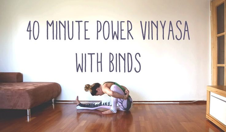 This is an instructional power vinyasa yoga video with binds and balance work. Always work within a pain-free range. Please subscribe to the YouTube channel ...