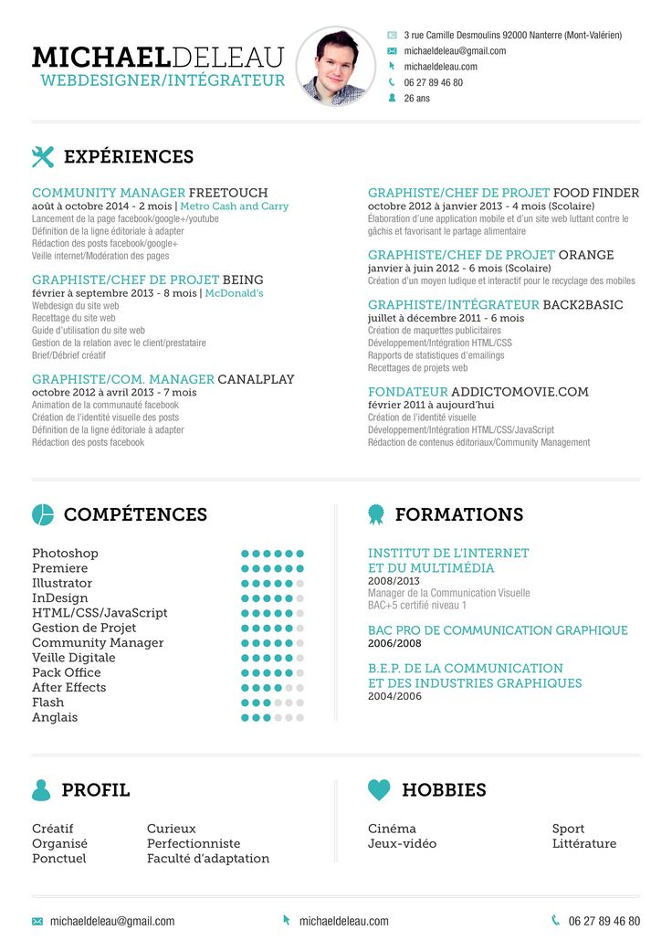 29 best curriculum vitae images on Pinterest Curriculum - fast food worker resume