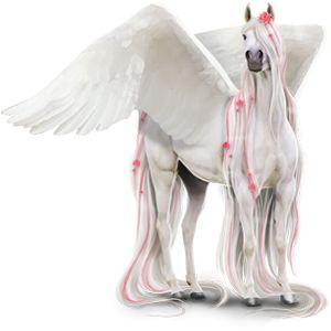 Winter, Pegasus Akhal-Teke Light Gray #3643633 - Howrse US