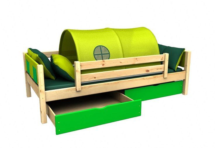 Dětská postel by měla být nejen kvalitní a funkční, ale také originální. A to tato dětské postel s iglů bezesporu je!