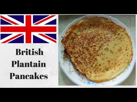 Original Recipe | British Plantain Pancakes