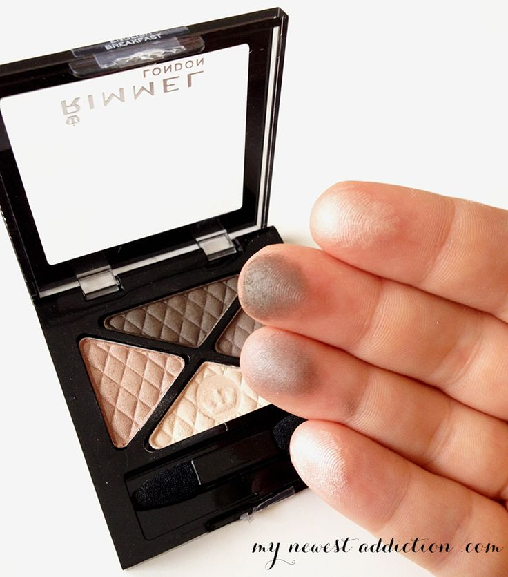 Best Drugstore Neutral Eyeshadow: Rimmel has some great eyeshadow quads and really cheap!