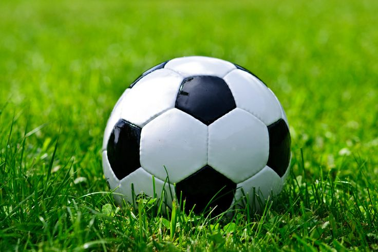 Best Soccer Ball On Green Grass Wall Mural Soccer Ball 400 x 300