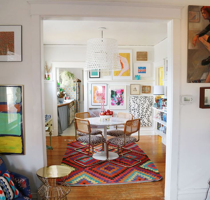 Maximalist Style Outside Of Chicago | Design*Sponge. Dining Room ...