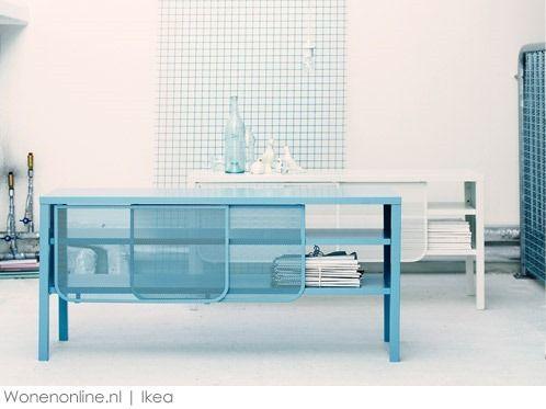 Metalen Afsluitbare Kast.Afsluitbare Kast Ikea Ikea Malm Ladenkast Paars Met Los Bureau Blad
