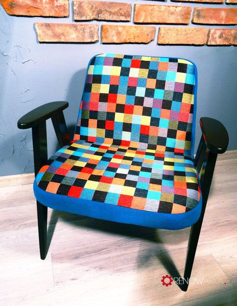 Armchair Chierowski- Fotel lata 70's w RENOWARKA na DaWanda.com