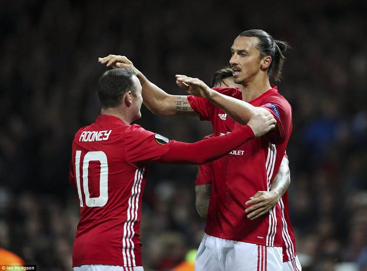 Wayne Rooney - who started on the substitutes' bench - came on to claim the assist for tea...