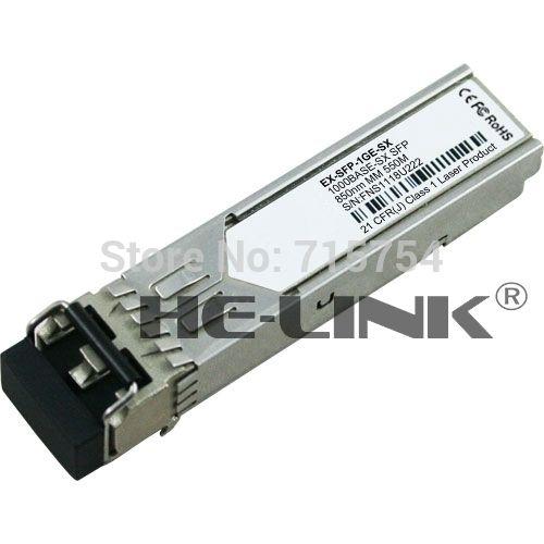 New EX-SFP-1GE-SX Compatible 1000Base-SX 550M SFP Transceiver module( Compatible with Juniper)