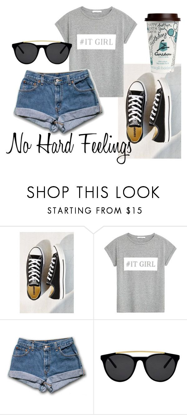 """""""http://www.polyvore.com/cgi/group.join?id=198631."""" by emina-h15 ❤ liked on Polyvore featuring Converse, MANGO and Smoke & Mirrors"""