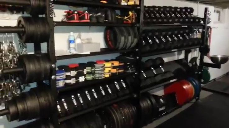 4th Evolution of Epic Rogue Home Basement Powerlifting Gym