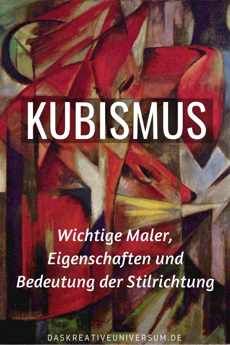 Der Kubismus im Detail. Die wichtigsten Maler des Kubismus, prominente Eigenscha…