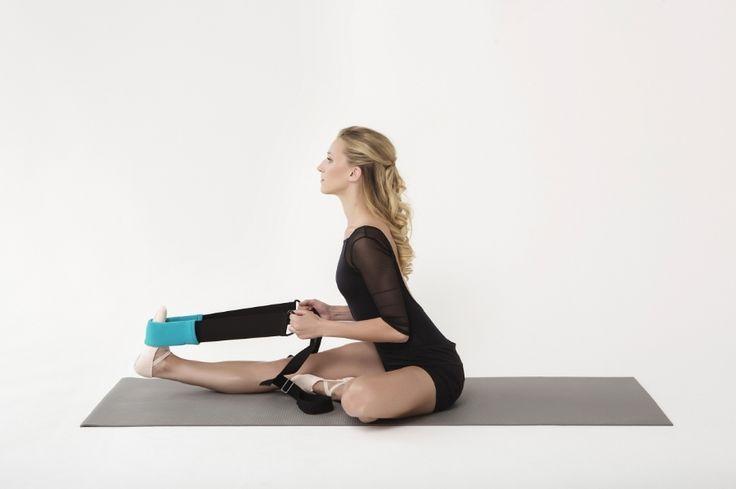 Flexistretcher seated hamstring stretch