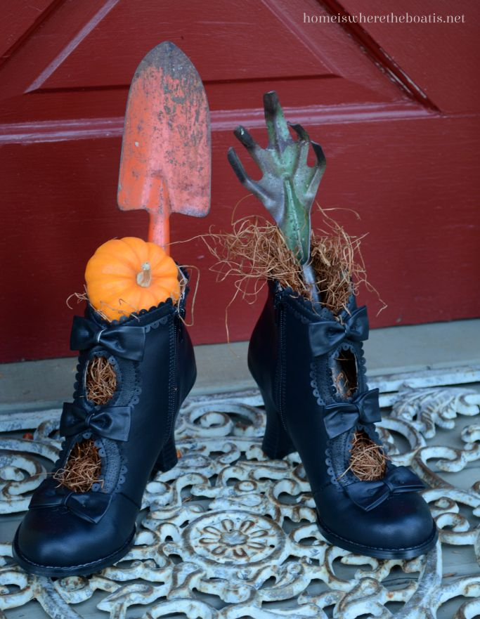 Ideal Decorative Witch Shoes By42 Roccommunity