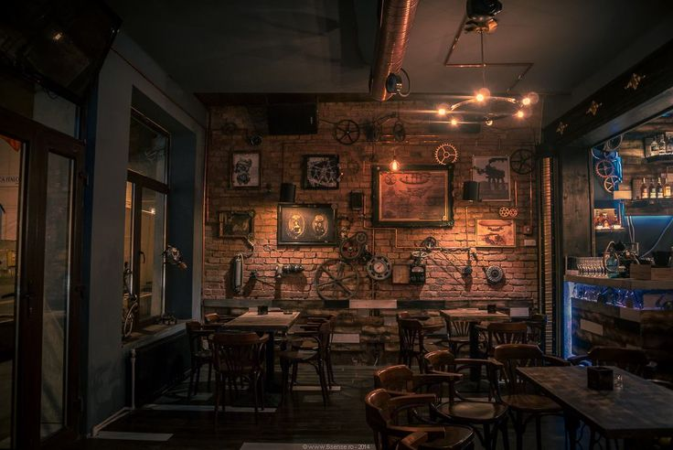 Joben bistro steampunk pub located in cluj napoca for Interieur cluj