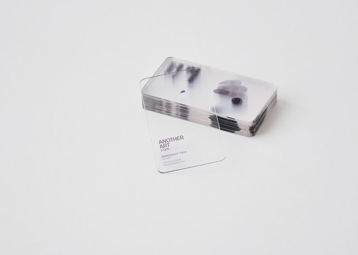 Example of not so ordinary material usage in business cards design. This one is bold, courageous and minimal. Great job in gaining attention