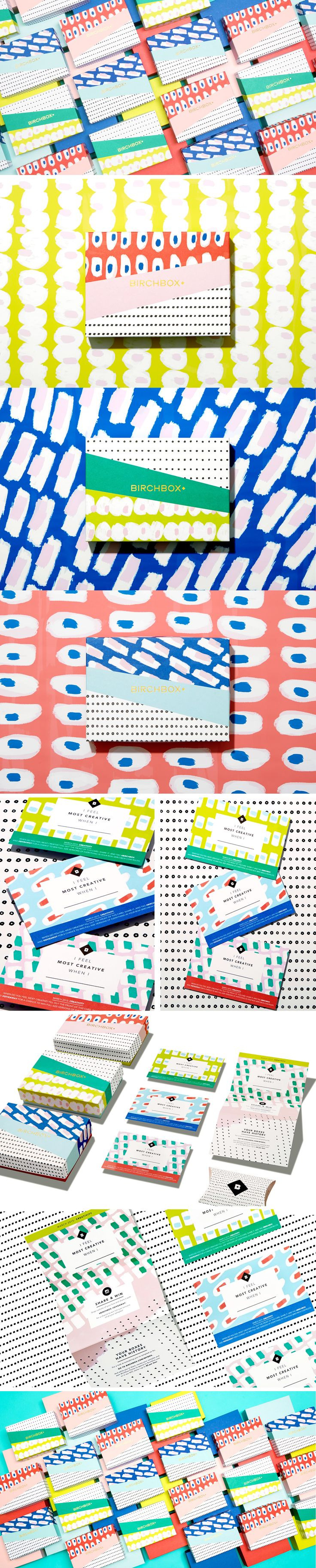 Birchbox March 2015 Subscription Box on Behance
