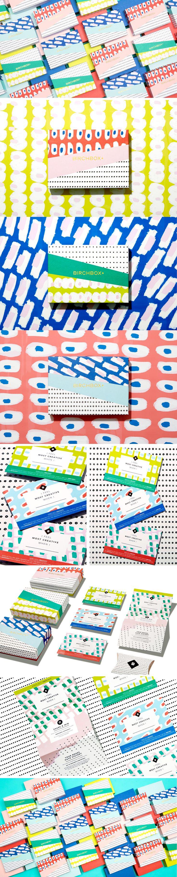 Birchbox March 2015 Subscription Box on Behance   by Mary Rabun