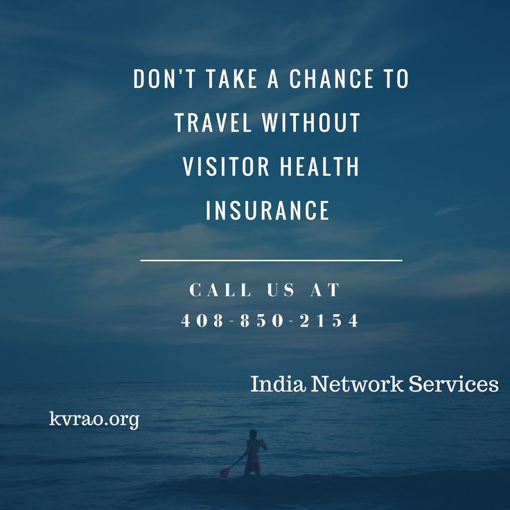 India Network Health Insurance will get you a good Visitor Health Insurance coverage for 1 dollar per day!