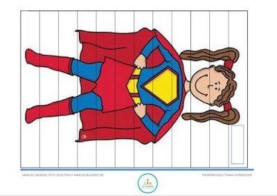 Annelies' blog, kleuterjuf!: Thema superhelden: enkele materialen