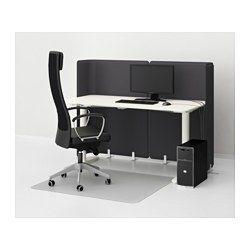 BEKANT Přepážka ke stolu - 120 cm - IKEA