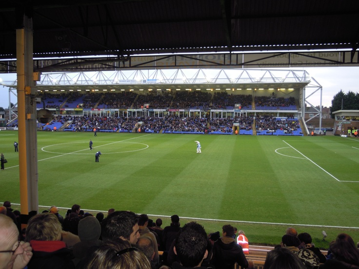London Road. Home of Peterborough United. Terrible ground, but has a certain charm about it.