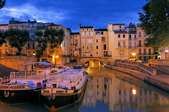 """Le Pont des Marchands"", Narbonne, #Languedoc, South of France www.audetourisme.com"