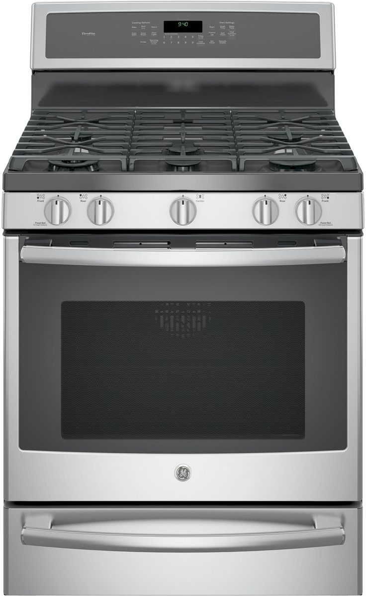 GE P2B940SEJSS 30 Inch Freestanding Dual Fuel Range with Chef Connect 5.6 cu. ft. True European Oven, WiFi Connect, 5 Sealed Elements, Tri-Ring Burner, Dual Center Burner, Grill/Griddle, Star-K Certified Sabbath Mode, Warming Drawer and Self-Clean
