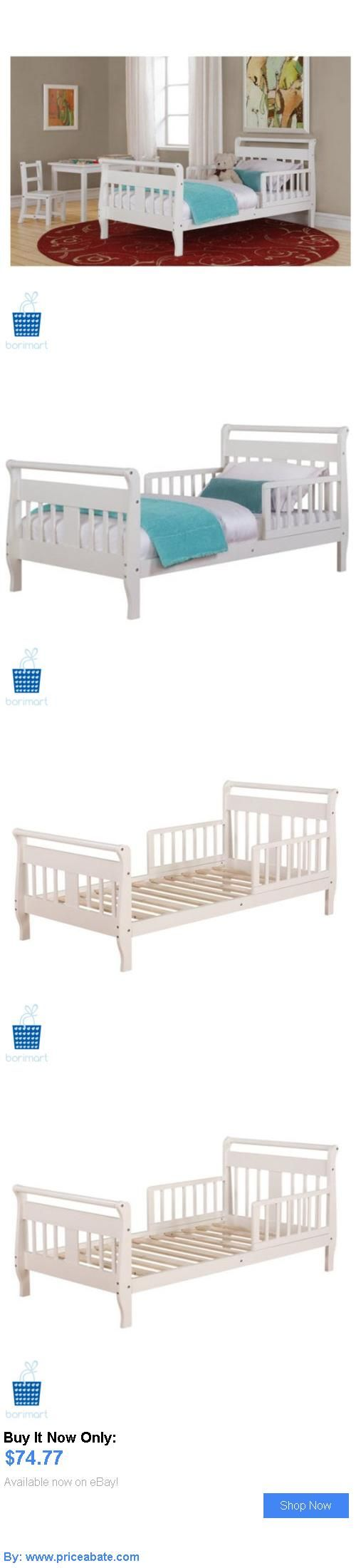 Kids Furniture: Baby Relax Low Height Safety Rails White Toddler Bed Kids Bedroom Furniture BUY IT NOW ONLY: $74.77 #priceabateKidsFurniture OR #priceabate