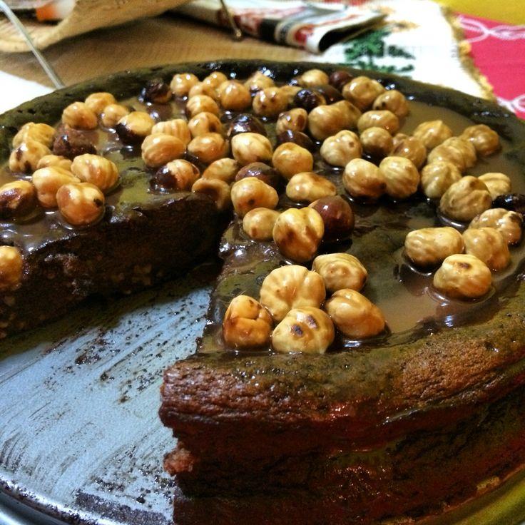 Κέικ πραλινας φουντουκιου