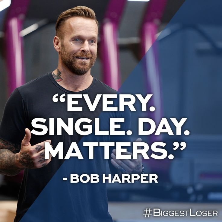 Bob knows best. #BiggestLoser #Fitness #Inspiration #BobHarper
