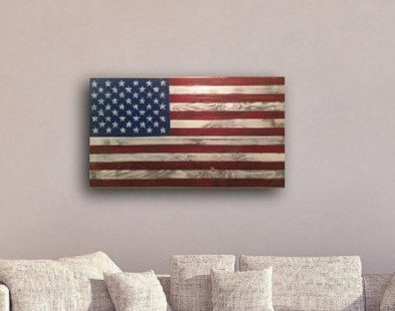 Pallet+Flag+rustic+reclaimed+wood+pallet+by+HippieHoundUSA+on+Etsy