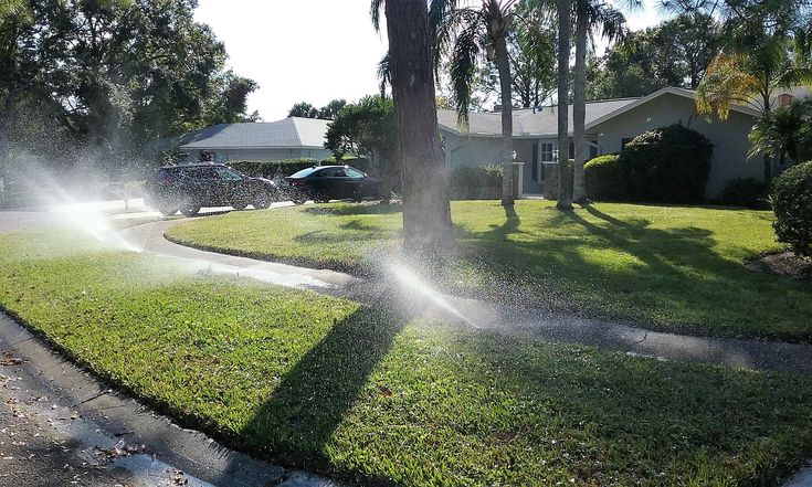 Lawn Sprinkler Repairs Spring Hill Florida, American Property Maintenance has over 20 years experience repairing sprinkler systems, sprinkler valve repairs and much more. We always provide Free Estimates and all work is warrantied for one year.