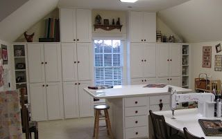 Grammy Quilts: New Cabinets for My Quilt Room