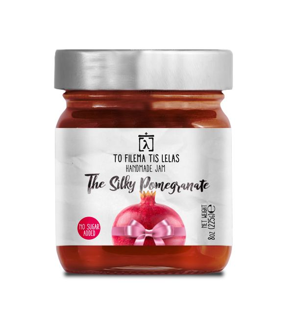 TO FILEMA TIS LELAS - HANDMADE POMEGRANATE JAM