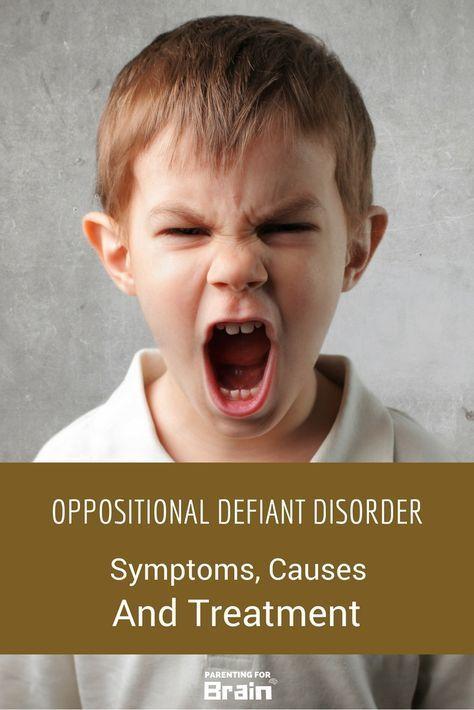 Oppositional Defiant Disorder #ODD - Treatment, Discipline, Parenting Strategies