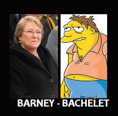#Bacheletitis #Barney #DosGotasDeAgua xD