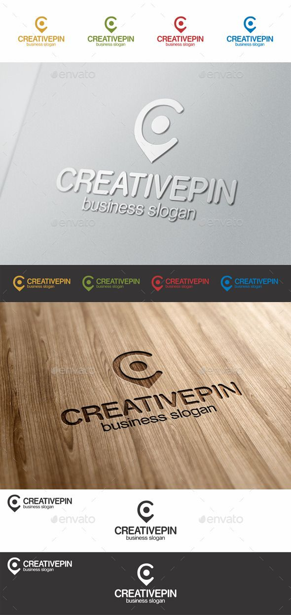 Creative Pin C Point Letter Logo  #locate #logo template #map • Available here → http://graphicriver.net/item/creative-pin-c-point-letter-logo/8979511?s_rank=205&ref=pxcr